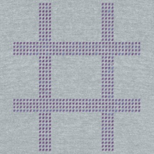 Hash Tag - Unisex Tri-Blend T-Shirt by American Apparel