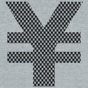 YEN - Unisex Tri-Blend T-Shirt by American Apparel