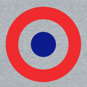 Roundel British - Unisex Tri-Blend T-Shirt by American Apparel