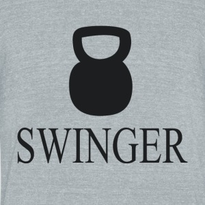 Swinger - Unisex Tri-Blend T-Shirt by American Apparel