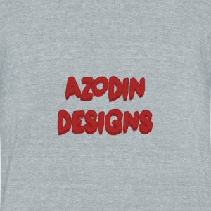 Azodin T-Shirt Design - Unisex Tri-Blend T-Shirt by American Apparel