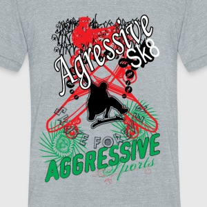 Aggressive sport - Unisex Tri-Blend T-Shirt by American Apparel
