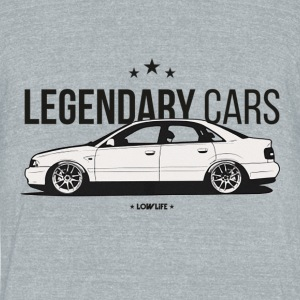 Legendary cars audi - Unisex Tri-Blend T-Shirt by American Apparel