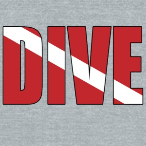Dive - Unisex Tri-Blend T-Shirt by American Apparel