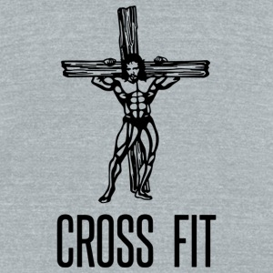 Cross Fit - Unisex Tri-Blend T-Shirt by American Apparel