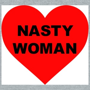Nasty Woman - Unisex Tri-Blend T-Shirt by American Apparel
