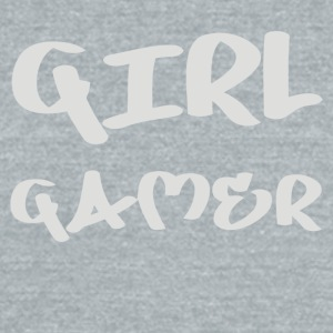 Girl Gamer - Unisex Tri-Blend T-Shirt by American Apparel