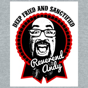REVEREND ANDY LOGO 2 COLOR 1 - Unisex Tri-Blend T-Shirt by American Apparel