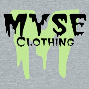 MYSE logo slime green - Unisex Tri-Blend T-Shirt by American Apparel