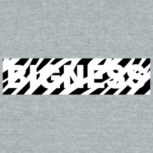 BIGNESS Zebra - Unisex Tri-Blend T-Shirt by American Apparel