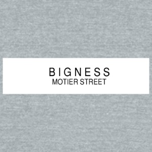 BIGNESS Ponsonby's - Unisex Tri-Blend T-Shirt by American Apparel