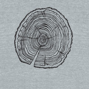 tree 3 tee - Unisex Tri-Blend T-Shirt by American Apparel