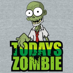 Todays Zombie - Unisex Tri-Blend T-Shirt by American Apparel