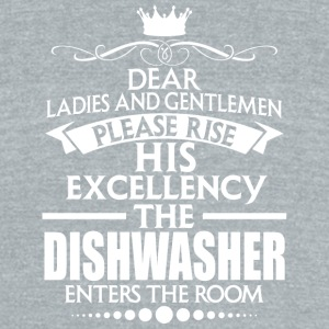 DISHWASHER - EXCELLENCY - Unisex Tri-Blend T-Shirt by American Apparel