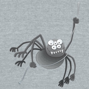scary_spider - Unisex Tri-Blend T-Shirt by American Apparel