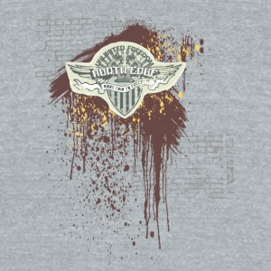 north edge - Unisex Tri-Blend T-Shirt by American Apparel