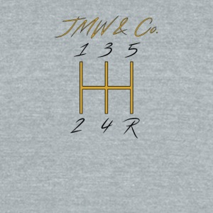 JWM and Co Shift Knob - Golden Standard - Unisex Tri-Blend T-Shirt by American Apparel