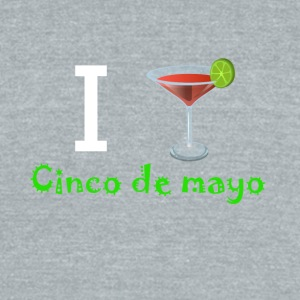 I Margarita Cinco de Mayo - Unisex Tri-Blend T-Shirt by American Apparel