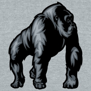 gorilla - Unisex Tri-Blend T-Shirt by American Apparel