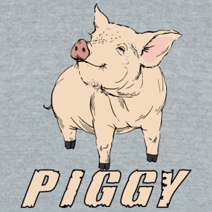 pIGGY - Unisex Tri-Blend T-Shirt by American Apparel