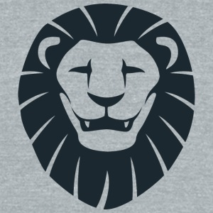 smiling_lion_face - Unisex Tri-Blend T-Shirt by American Apparel