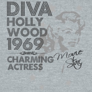 Hollywood actress - Unisex Tri-Blend T-Shirt by American Apparel
