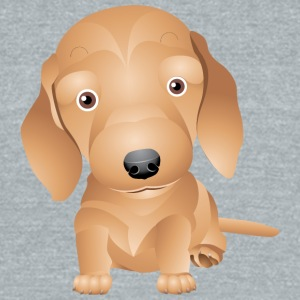 Cute and sweet puppy 33 - Unisex Tri-Blend T-Shirt by American Apparel