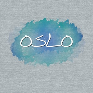 Oslo - Unisex Tri-Blend T-Shirt by American Apparel