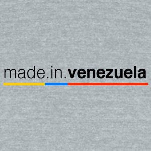 Made in Venezuela - Unisex Tri-Blend T-Shirt by American Apparel