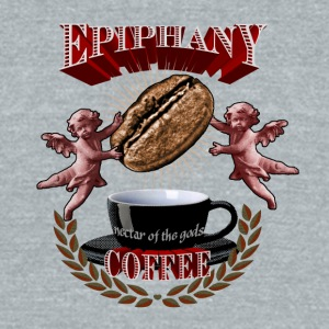 Epiphany - Coffee - Unisex Tri-Blend T-Shirt by American Apparel