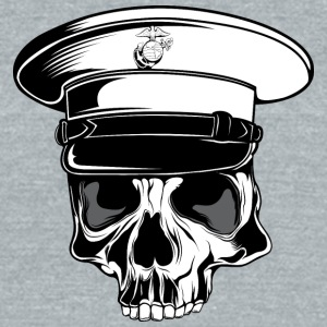 captain_skull_2 - Unisex Tri-Blend T-Shirt by American Apparel