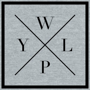 Official What's Your Life Purpose Design - Unisex Tri-Blend T-Shirt by American Apparel