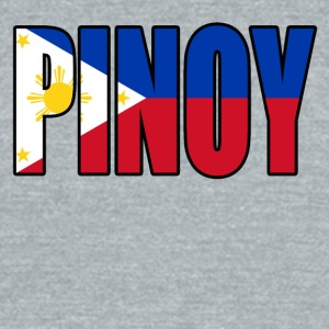 Pinoy - Unisex Tri-Blend T-Shirt by American Apparel