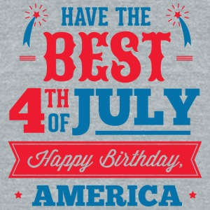 have_a_best_4th_july - Unisex Tri-Blend T-Shirt by American Apparel