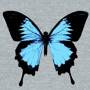 Butterfly - Unisex Tri-Blend T-Shirt by American Apparel
