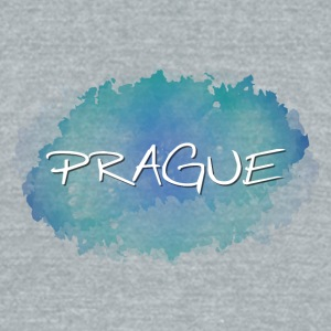 Prague - Unisex Tri-Blend T-Shirt by American Apparel