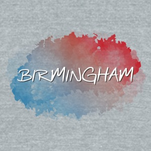 Birmingham - Unisex Tri-Blend T-Shirt by American Apparel