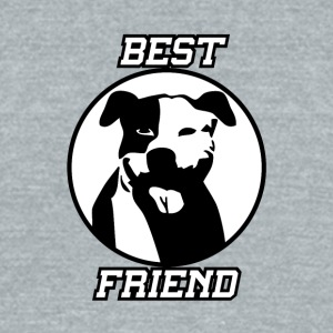 Best friend - Unisex Tri-Blend T-Shirt by American Apparel