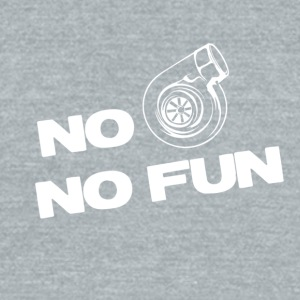No turbo no fun - Unisex Tri-Blend T-Shirt by American Apparel