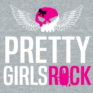 PRETTY GIRLS ROCK - Unisex Tri-Blend T-Shirt by American Apparel
