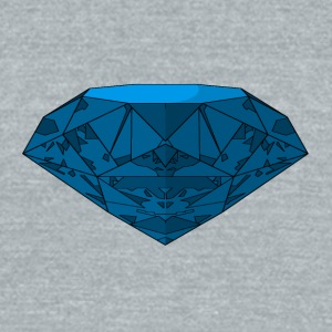 Blue Diamond - Unisex Tri-Blend T-Shirt by American Apparel