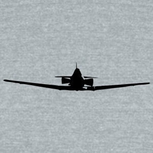 Plane - Unisex Tri-Blend T-Shirt by American Apparel