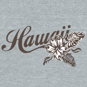 Hawaii - Unisex Tri-Blend T-Shirt by American Apparel