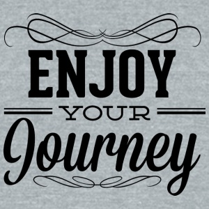 enjoy_your_journey - Unisex Tri-Blend T-Shirt by American Apparel