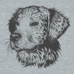 dog Dream - Unisex Tri-Blend T-Shirt by American Apparel