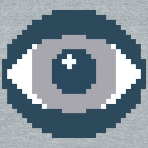 The Eye - Unisex Tri-Blend T-Shirt by American Apparel