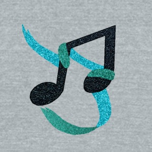 Music_Note_2 - Unisex Tri-Blend T-Shirt by American Apparel
