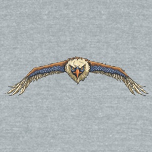 flying_eagle - Unisex Tri-Blend T-Shirt by American Apparel
