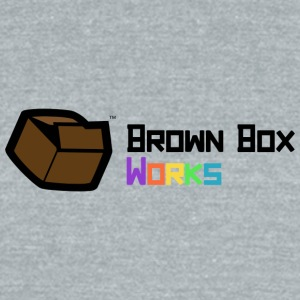 BrownBoxworks Logo - Unisex Tri-Blend T-Shirt by American Apparel