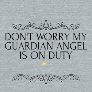Guardian angel - Unisex Tri-Blend T-Shirt by American Apparel
